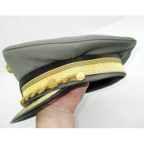 Tellerkappe für einen Generalleutnant des österreichischen Bundesheeres der 2. Republik