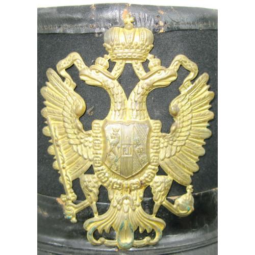 k.u.k. Tschako für einen Infanteristen