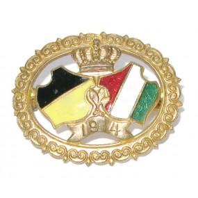 Patriotisches Abzeichen, österr. - ungarisches Wappen