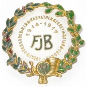 K. u. K. Kappenabzeichen, FJB 11 1914 - 1917