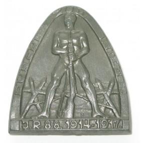 I.R.88. 1914-1917, DURCH ZUM SIEGE
