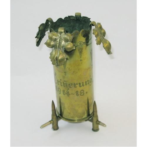 """Frontarbeit, Grabenarbeit """"ERINNERUNG 1914 - 18"""""""
