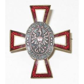 Kriegsführsorgeabzeichen, OLMÜTZ 1914 - 1915