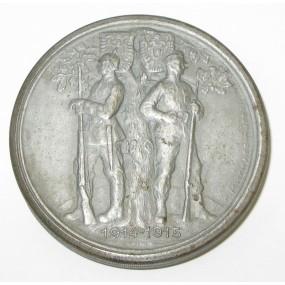 Schraubtaler, GOTT MIT UNS/VIRIBUS UNITIS 1914-1915
