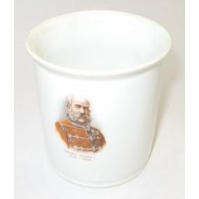 Patriotisches Heferl/Tasse KAISERJUBILÄUM 1848 - 1898