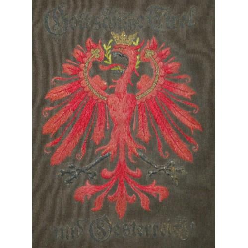 Gott schütze Tirol und Österreich