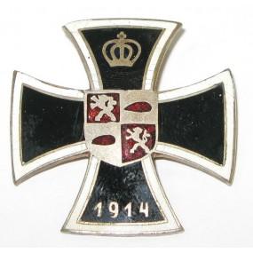 Patriotisches Abzeichen, KRIEGSFÜRSORGE STADT JCLAU 1914