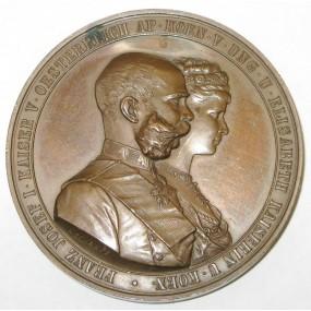 Silberhochzeit Kaiser Franz J. I. und Elisabeth von Bayern