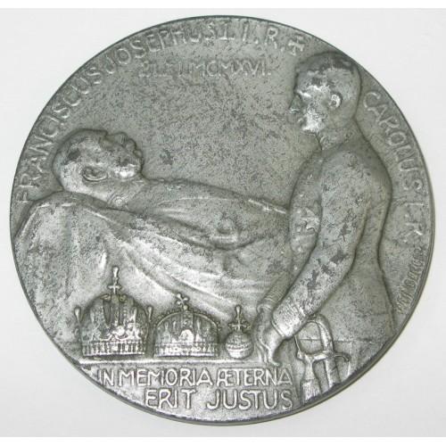 FRANCISCUS JOSEPHUS 1 I.R 21. XI. MCMXVI.