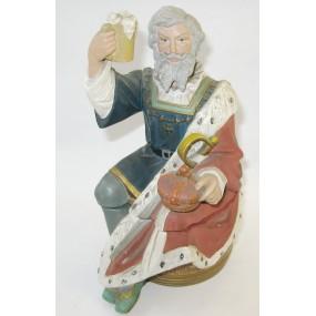 Tabakdose mit Darstellung des legendären Königs Gambrinus