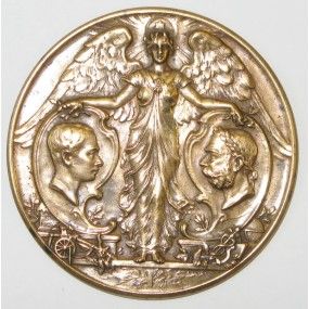 Medaille, Jubiläumsausstellung Wien 1898