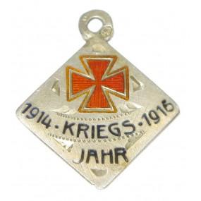 Patriotisches Abzeichen, ROTES KREUZ KRIEGSJAHR 1914-1916