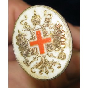 1. Weltkrieg Österreichisches Rotes Kreuz Patriotische Haarnadel