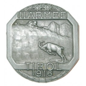 K. u. K. Kappenabzeichen, 11. ARMEE TIROL 1916