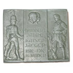 Kappenabzeichen, TIROLER KAISERJÄGER 1816 -1916