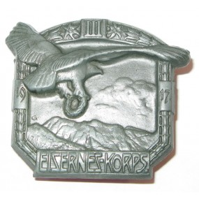 K. u. K. Kappenabzeichen, III. EISERNES KORPS 1917