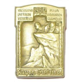 Rayon Süd-Tirol/ VALSUGANA- LAFRAUN- VIELGEREUTH- RIVA-JUDIKARIEN-ADAMELLO 1915-17