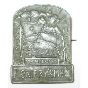 K. u. K. Kappenabzeichen, MANILOWA PIONIER KOMP. 5/4
