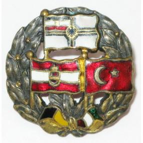 K.u.K. Kriegsmarine, Die Marineflaggen der drei Verbündeten