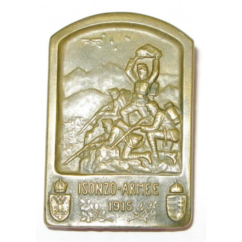 K. u. K. Kappenabzeichen, Isonzo Armee 1915
