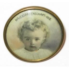 Foto - Portraitabzeichen KRIEGSPATENSCHAFT 1915 Erzherzog Otto