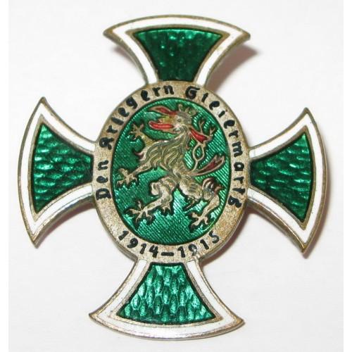 K.u.K. Patriotisches Abzeichen, Den Kriegern Steiermarks 1914-1915
