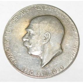 Kaiser Franz Joseph I. Medaille zum 100. Geburtstag 1830-1930