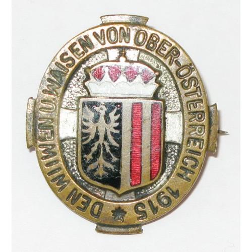 K.u.K. Patriotisches Abzeichen, Den Witwen und Waisen von Oberösterreich