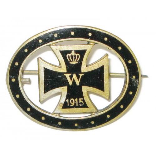 Patriotisches Eisernes Kreuz - Abzeichen 1914 - 1915