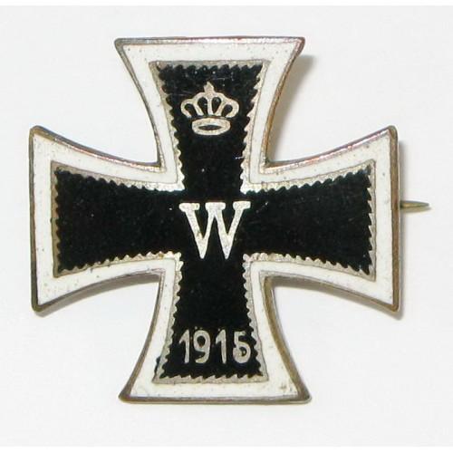 Patriotisches Eisernes Kreuz - Abzeichen 1914 - 1916