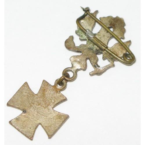 Patriotisches Abzeichen, Doppeladler mit Eisernen Kreuz