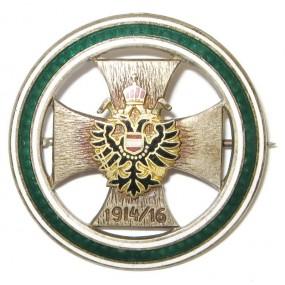 K.u.K. Patriotisches Doppeladler Abzeichen  1914/16