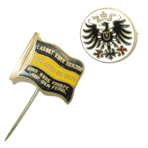 1. Weltkrieg, 2 Patriotische Abzeichen