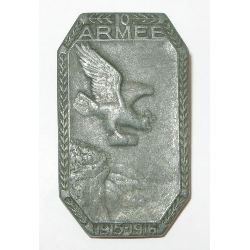 K. u. K. Kappenabzeichen, 10. ARMEE 1915 - 1916