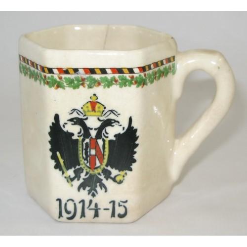 1. Weltkrieg Patriotisches Doppeladler - Heferl 1914 - 15