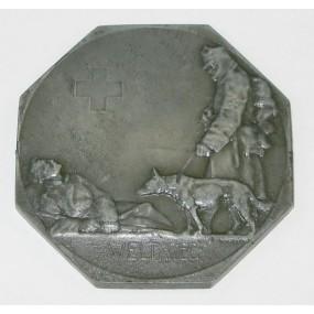 Medaille des K.u.K. Kriegs-Sanitäts- und Hundeführer-Kurses in Wien 1914-1916