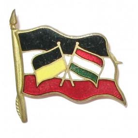 K.u.K. Kriegsmarine, Flaggen der Verbündeten Österreich - Ungarn, Deutschland