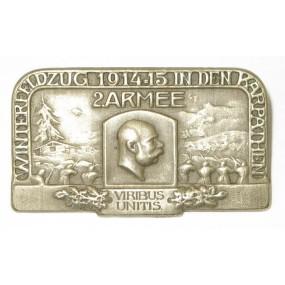 K. u. K. Kappenabzeichen, Winterfeldzug 1914-15 in den Karpathen 2. Armee