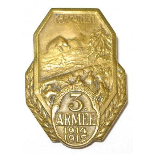 K. u. K. Kappenabzeichen, 3. Armee 1914/1915 KARPATHEN