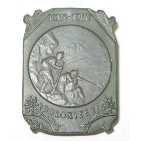 K. u. K. Kappenabzeichen, DOLOMITEN 1914-1916