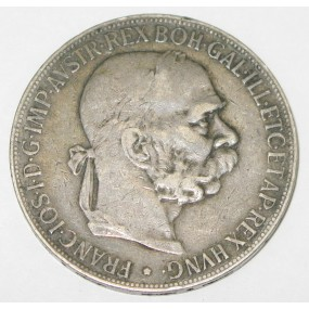 Kaiser Franz Josef I. 5 Kronen 1900 Wien