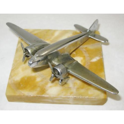 Art Deco Flugzeug Flieger 30er/40er Jahre