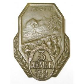 K. u. K. Kappenabzeichen, 3. ARMEE 1914-1915, KARPATHEN- DURCHHALTEN