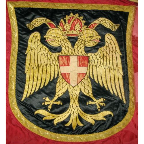 k. u. k. Vereinsfahne des Knabenhort Meidling