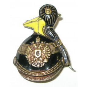 k. u. k. Kappenabzeichen, Ulanen Regiment 6