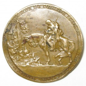 k. u. k. Spendenabzeichen für die Grabstätten der gefallenen Helden von 1914-1915 LIMANOWA - TARNOW - GORLICE