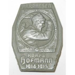 k. u. k. Kappenabzeichen, Korps Hofmann 1914 - 1915