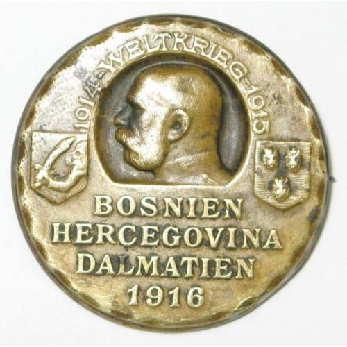 k. u. k. Kappenabzeichen, Bosnien, Herzegowina, Dalmatien 1916