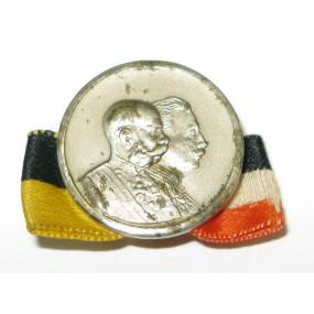 k. u. k. Patriotisches Abzeichen,  Kaiser Franz Josef und Kaiser Wilhelm