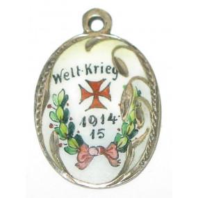k. u. k. Patriotischer Ketterlanhänger,  Weltkrieg 1914 - 15